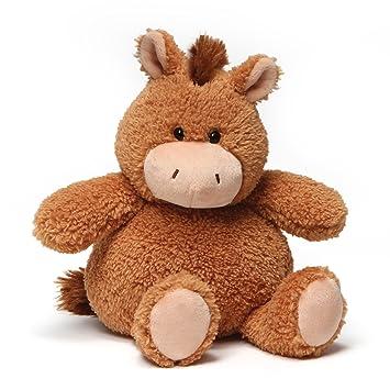 Amazon Com Gund Mini Chub Horse Stuffed Animal Brown 10 Toys