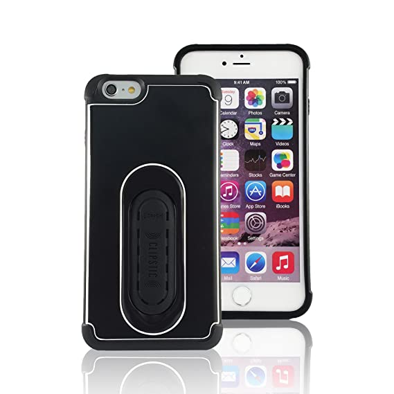 new arrivals 4b34f 06b76 5-in-1 Scooch Clipstic Pro Case for iPhone 6+/6S+ (Black)