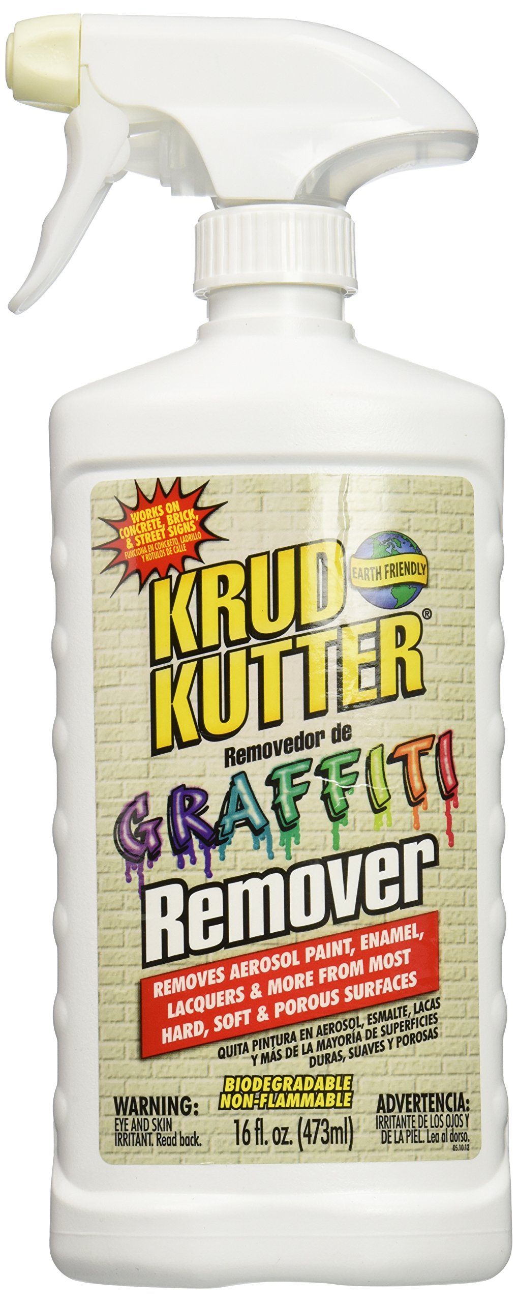 Krud Kutter GR16/4 Graffiti Remover with 16-Ounce Trigger Spray