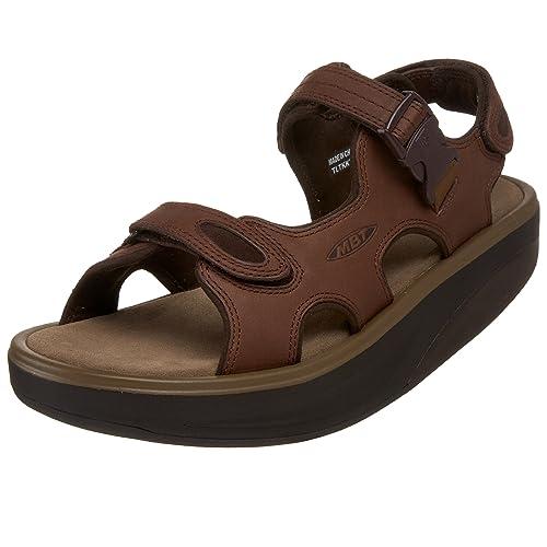 b0794382 Mbt Sandalia Kisumu2 visón 41: Amazon.es: Zapatos y complementos