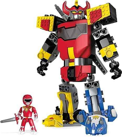 Mega Bloks 900 Dpk78 Power Rangers Mightymorphin Megazord Set Di