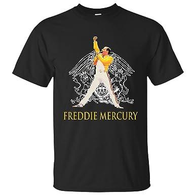 23e57415 Amazon.com: MonaPrintLLC Queen Freddie Mercury Shirt: Clothing
