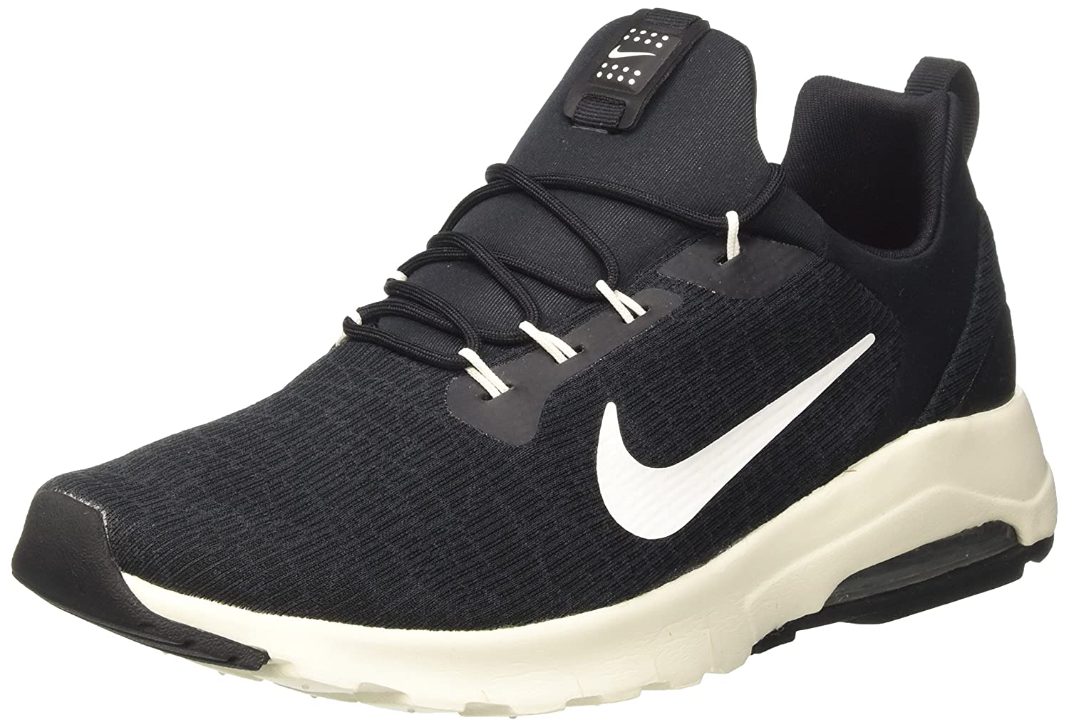 Nike Air MAX Motion Racer, Zapatillas para Hombre 44 EU|Negro (Black/Sail-anthracite-cl)