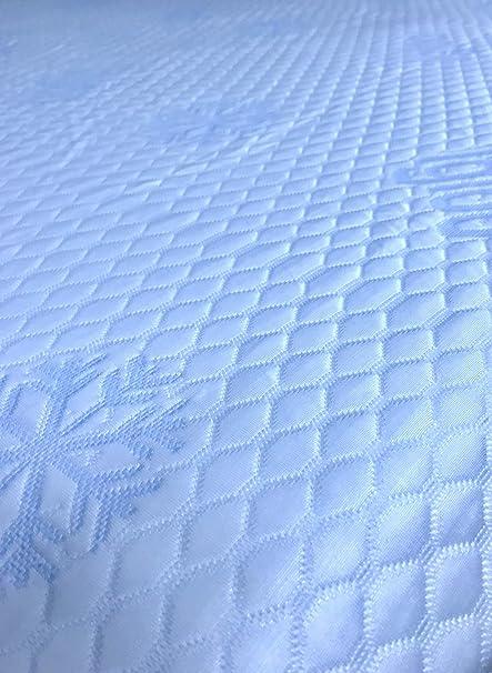 Ferlex Cubre COLCHON Ice Sabana Ajustable Efecto Frio (140 X ...