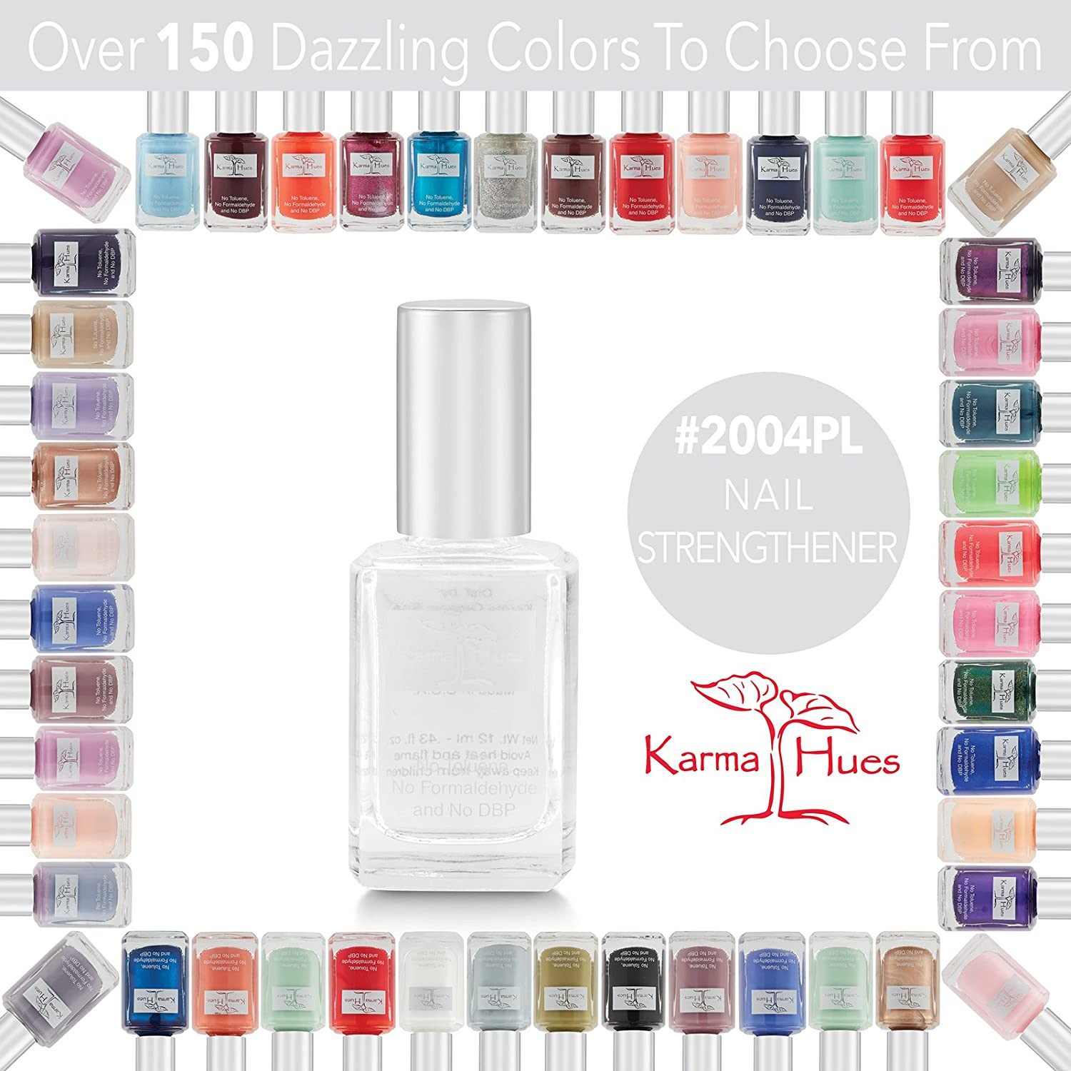Amazon.com: Nail Strengthener - Nail Polish; Non-Toxic, Vegan, and ...