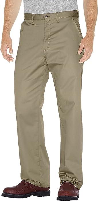 Choose SZ//color Details about  /Dickies Men/'s Flat-Front Pant