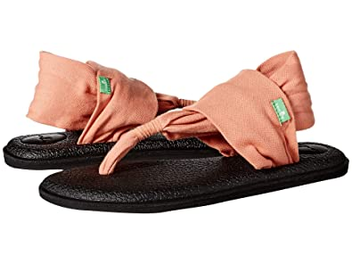 Sanuk Womens Yoga Sling 2 Flip Flop: Amazon.es: Zapatos y ...