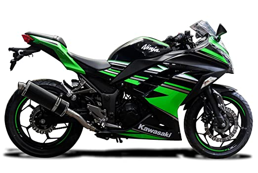 Kawasaki NINJA 300 2013-2018 350 mm Carbono Road Legal Kit ...
