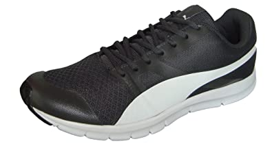 Puma Men's Flexracer IDP Asphalt and Puma White Running Shoes - 7 UK/India (