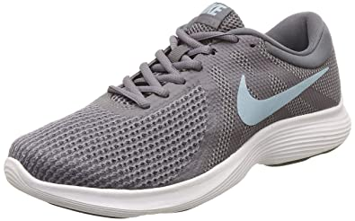 207f44b49656f Image Unavailable. Image not available for. Color  Nike Women s Revolution  4 Running Shoe Gunsmoke Ocean Bliss Dark Grey ...