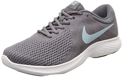 Nike Women s Revolution 4 Running Shoe Gunsmoke Ocean Bliss Dark Grey Size 6.5 M US