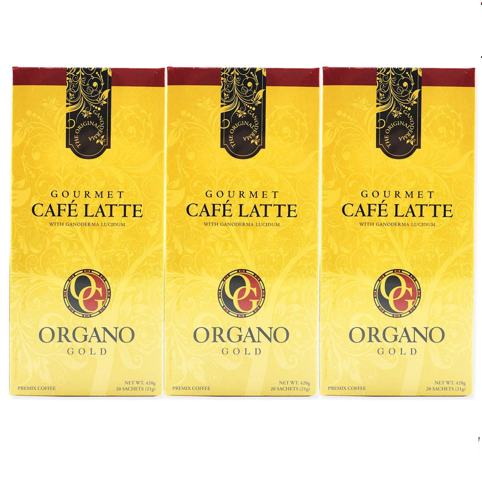 3 Box 100% Certified Organic Organic Ganoderma Gourmet Organo Gold Cafe Latte Offer Free Express by Organo Gold