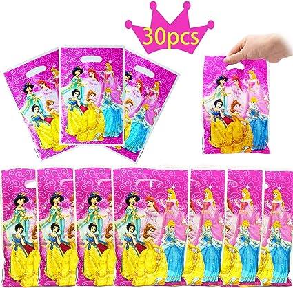 Boys Girls Birthday Party Disney Princess Themed Loot Bag Lunch Bags Gift