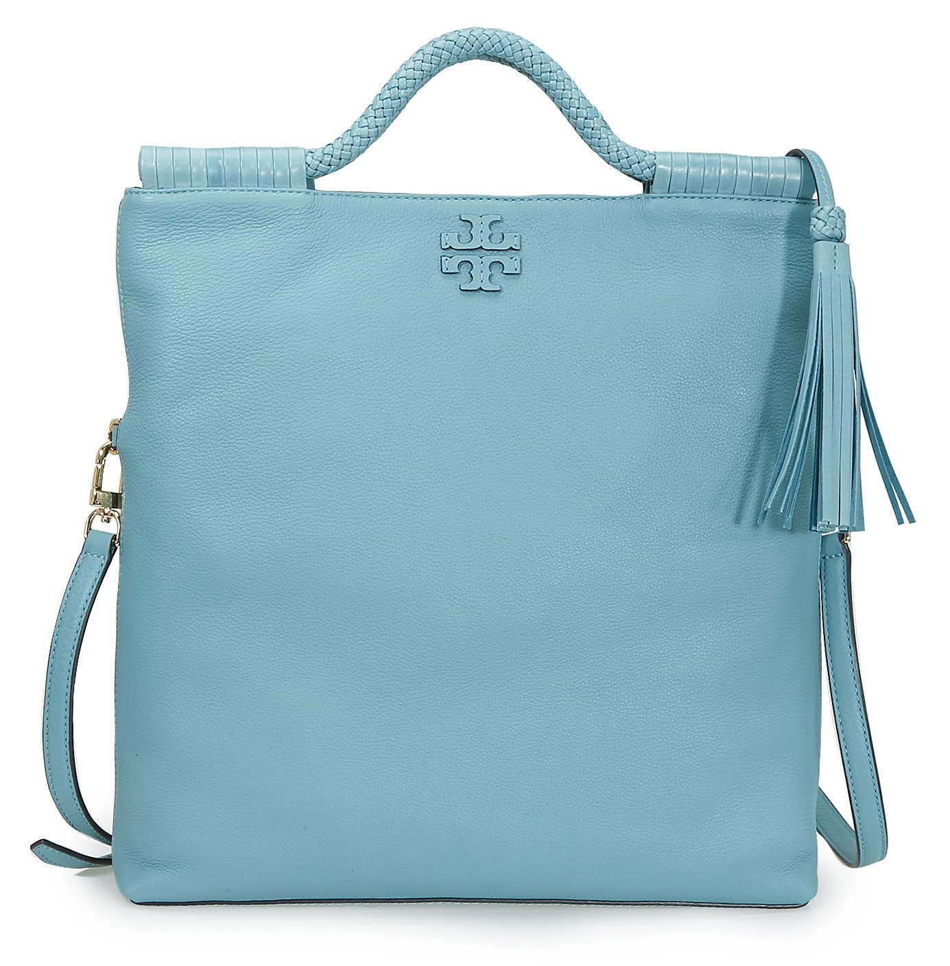 1b26438dc163 Buy Tory Burch Taylor Convertible Fold-Over Crossbody - Blue Online at Low  Prices in India - Amazon.in