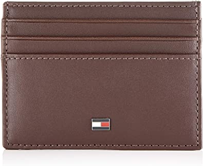 Tommy Hilfiger - Th Essential Cc Holder, Carteras Hombre, Marrón (Testa Di Moro), 1x1x1 cm (W x H L): Amazon.es: Zapatos y complementos