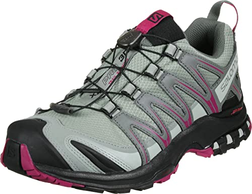 Salomon XA Pro 3D GTX W Zapatillas de Trail Running Shadow: Amazon.es: Zapatos y complementos