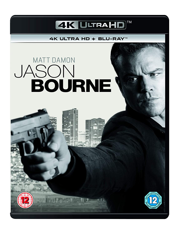 Amazon Com Jason Bourne Uhd Bd Uv Blu Ray 2017 Matt Damon Tommy Lee Jones Alicia Vikander Vincent Cassel Paul Greengrass Matt Damon Tommy Lee Jones Movies Tv