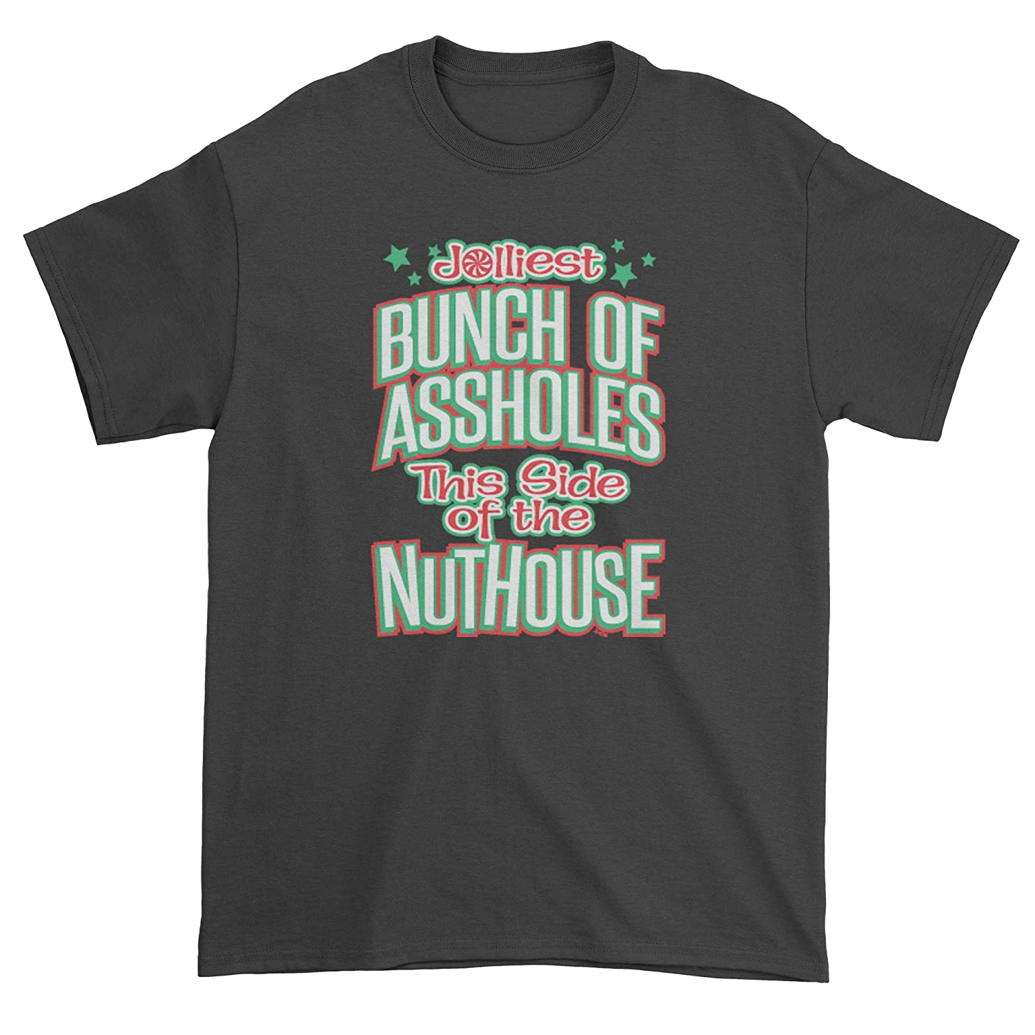Expression Tees Jolliest Bunch Of A**holes Mens T-shirt