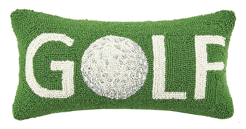 Amazon.com: Peking Handicraft Golf Ball Icon Hook Pillow, Green: Home U0026  Kitchen