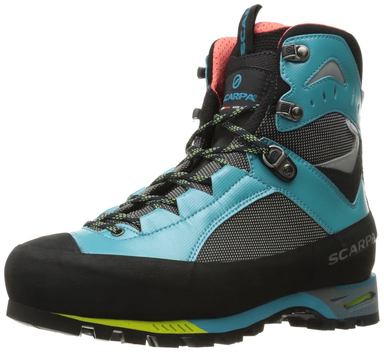 SCARPA Women's Charmoz Wmn Mountaineering Boot B01M1LTQ7E 42 M EU / 10 B(M) US|Shark/Maldive