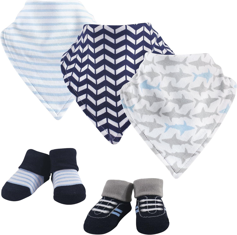 Yoga Sprout Baby Cotton Bandana Bibs and Socks