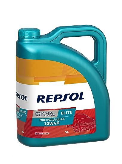 Repsol RP141N55 Elite Multiválvulas 10W-40 Aceite de Motor para ...