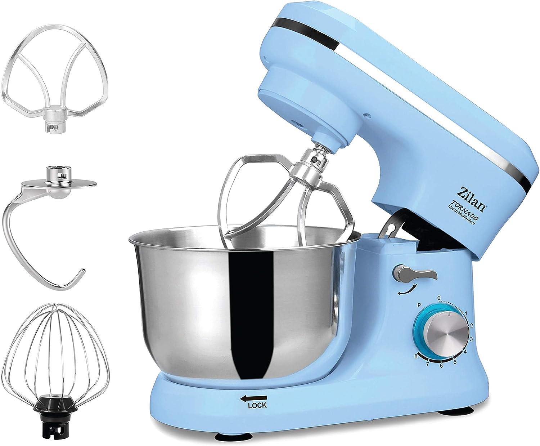 Robot de cocina | amasadora | Masa eléctrica | – Amasadora, amasadora de masa, 1000 Watt, 8 niveles de velocidad, función de pulso | 4,5 litros |.: Amazon.es: Hogar