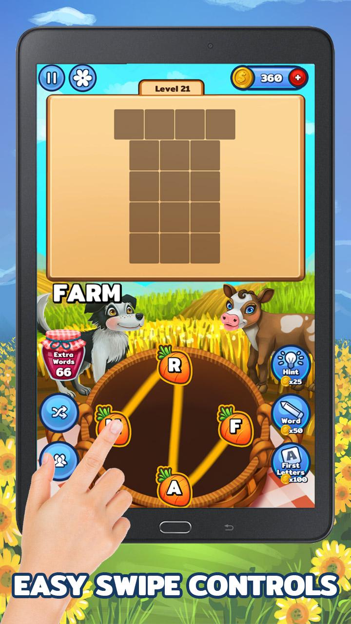 Granja de Palabras - Juego de Palabras en Español (Word Farm - Animal Kingdom): Amazon.es: Appstore para Android
