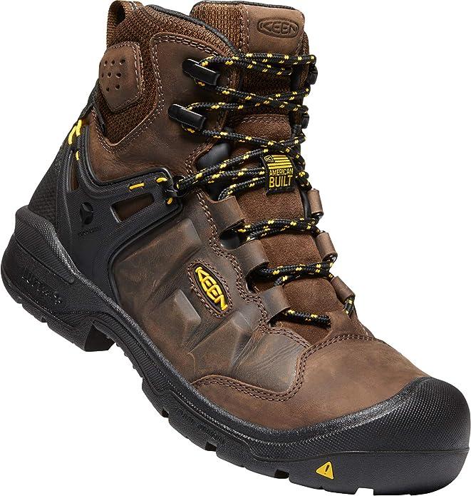 """KEEN Utility - Men's Dover 6"""" WP Carbon Fiber Toe Waterproof Work Boots"""