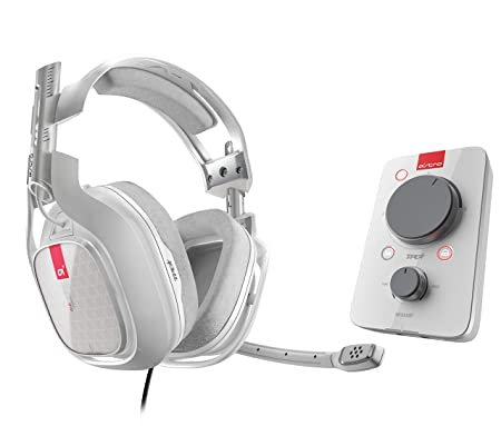 ASTRO Gaming A40 TR + MixAmp Pro TR Casque filaire avec son surround Dolby 7.1 - Compatible Xbox One, PC, Mac - Blanc