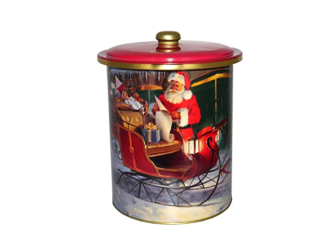 Grandma Wilds - Santas Sleigh Round Tin - Delicious Biscuit ...