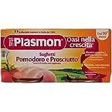 Plasmon Sughetto Pomodoro e Prosciutto - 6 confezioni da 2 pezzi da 80 g [12 pezzi, 960 g]
