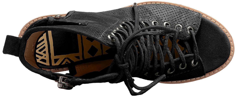 Dolce Vita Women's Loren Boot B01MRNBWY4 6 B(M) US Black Suede