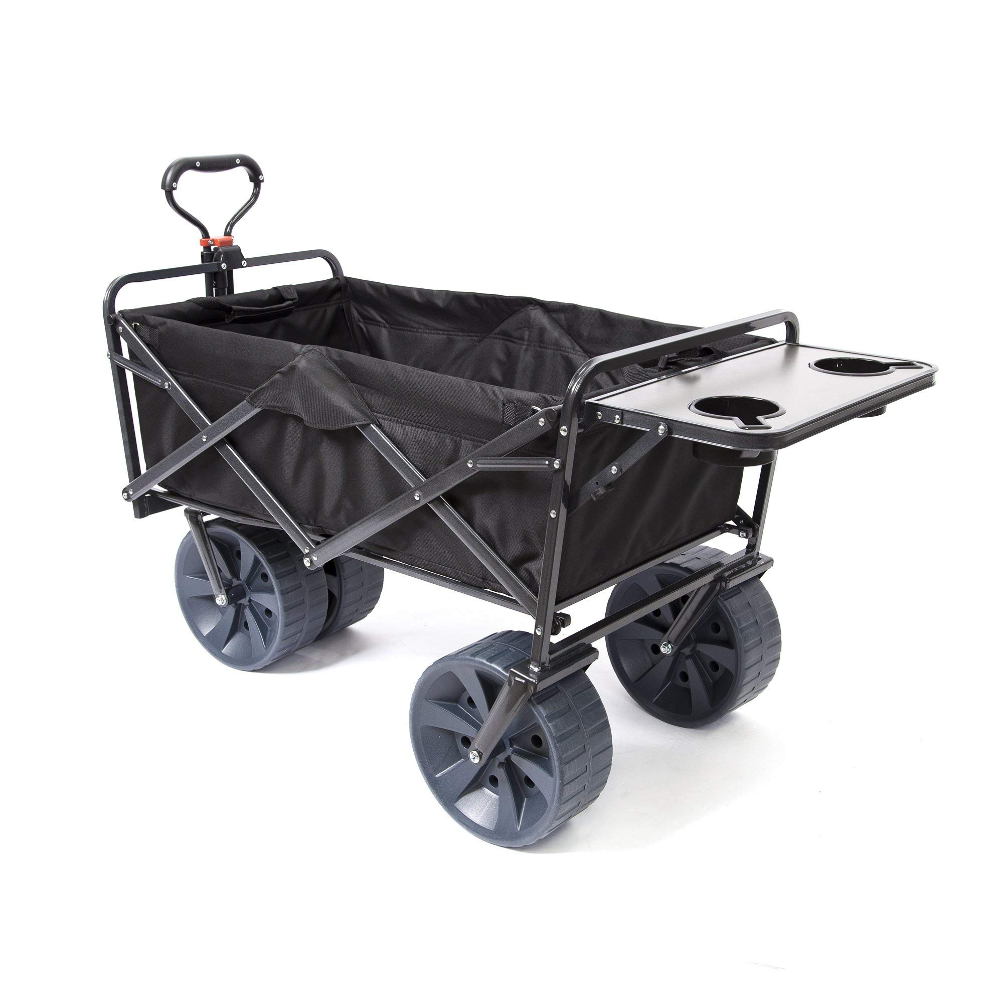 Details about Heavy Duty Collapsible Folding All Terrain Utility Wagon  Beach Cart with Table