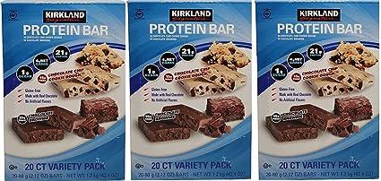Protein Bar Kirkland Signature deliciosa variedad de energía ...