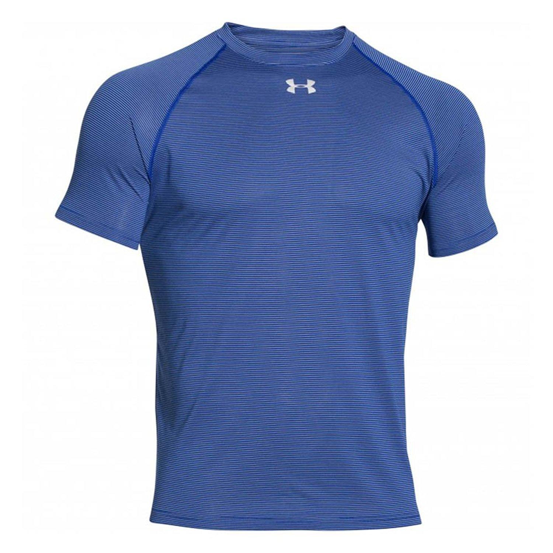 de6c1d25 Under Armour Men's Stripe Tech Locker T Short Sleeve at Amazon Men's  Clothing store: