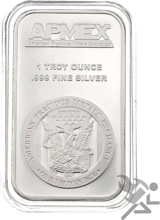 ONE Bar capsule for 1 oz silver bar 50 X 29mm
