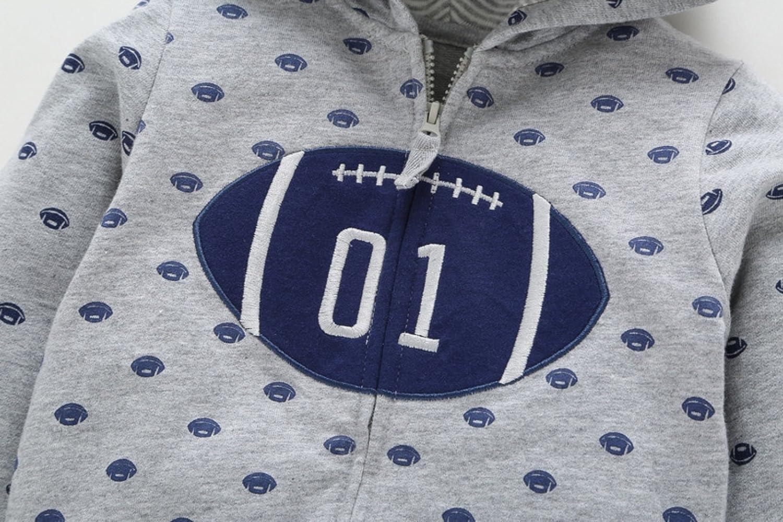 GUT/® Babykleidung Baby Boy Jungen M/ädchen Neugeborene Hoodies Mantel Dicke Tops Kinder Carter Stil Oberbekleidung f/ür 0-24 Monate