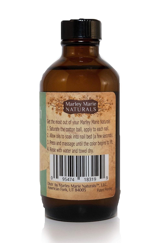 Amazon.com : Marley Marie Naturals Nail Polish Remover - Eucalyptus ...