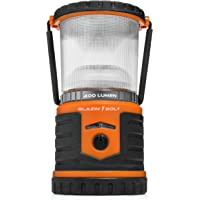 Brightest Rechargeable Lantern LED | Hurricane, Blackout, Storm | Power Bank Light | 400 Hour Runtime (Orange)