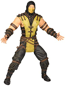 Kombat 30 Cm X Toys Mezco Figura Scorpion Mortal 2HD9IEbeWY