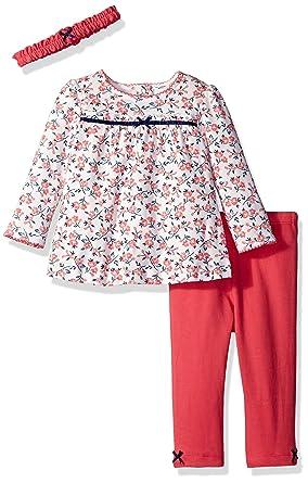 8f626fb7a0437 Amazon.com: Little Me Baby Girls' 3 Piece Tunic Set: Clothing