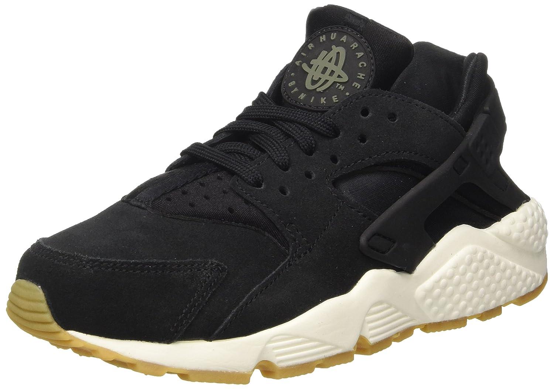 Nike Wmns Air Huarache Run SD, Zapatillas de Trail Running para Mujer 37.5 EU|Negro (Black / Deep Green / Sail / Gum Light Brown 001)