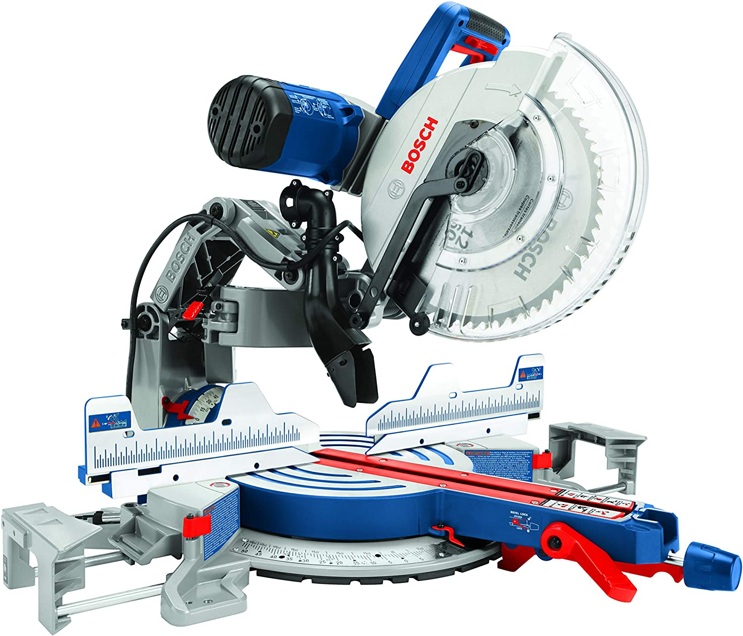 Bosch Power Tools GCM12SD – 15 Amp 12 in. Corded Dual-Bevel Sliding Glide Miter Saw with 60 Tooth Saw Blade