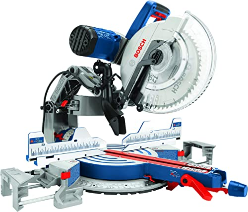 Bosch Power Tools GCM12SD – 15 Amp 12 Inch Corded Dual-Bevel Sliding Glide Miter Saw with 60 Tooth Saw Blade