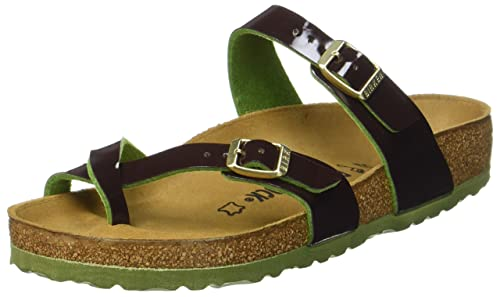 db30578cdd62 Birkenstock Mayari Birko-Flor Sandals Two Tone Espresso 40 R  Amazon ...