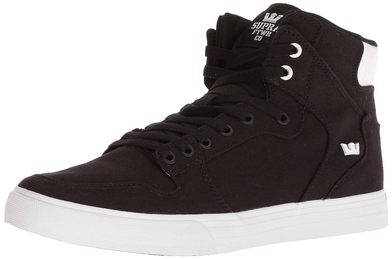 Supra Vaider Skate Shoe B075ZY65FC 10 M US|Black/White-white/Black
