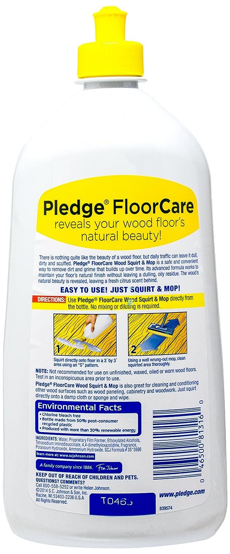 Amazon.com: Pledge FloorCare Wood Squirt & Mop - Lemon - 27 oz: Health &  Personal Care - Amazon.com: Pledge FloorCare Wood Squirt & Mop - Lemon - 27 Oz