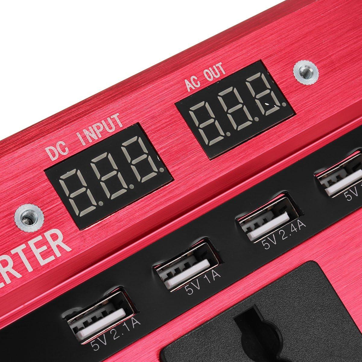 Tutoy 3000w 12v 24v Dc Bis 100v 130v Ac Solar Strom Inverter Led Modifizierter Sinus Wandler 1 Küche Haushalt