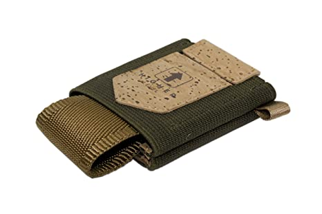 Higher Level Premium Card Wallet hecho de corcho minimalista ...